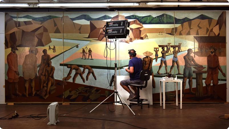 Restauro dos Painéis e Mural do IV Centenário I 2016 – 2019